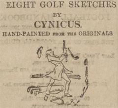 graphic for Cynicus golf sketches