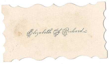 signature of Elizabeth Richards