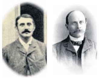 photos of the founders of Sevilla football club