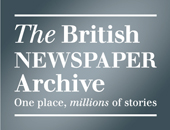 logo for the british newspaper archive