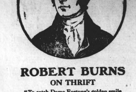 Robert Burns on thrift
