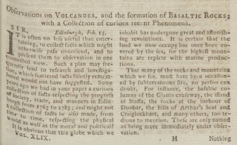 The Scots Magazine - Thursday 01 February 1787