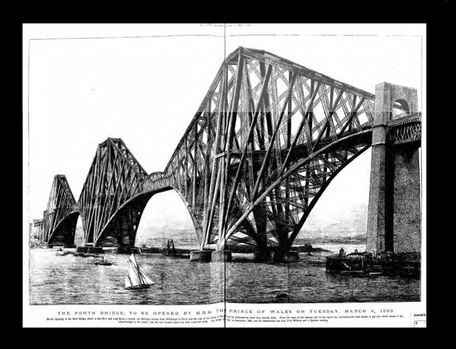 opening of the forth rail bridge