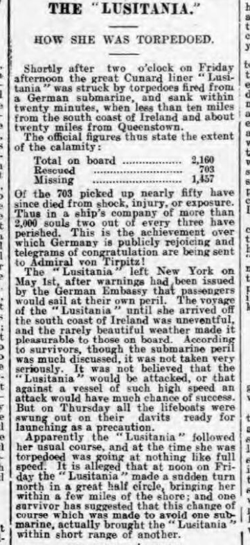 historical newspaper story about sigmund freud