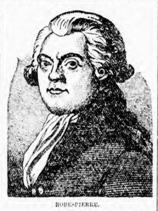 historical newspaper report about The The Arrest and Guillotining of Maximilien de Robespierre