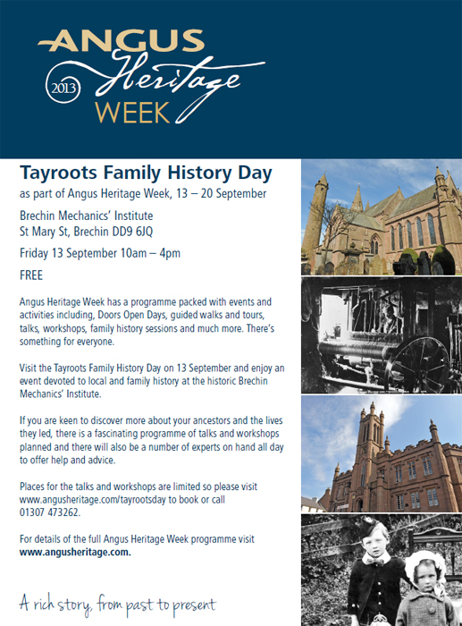 graphics for tayroots family history event