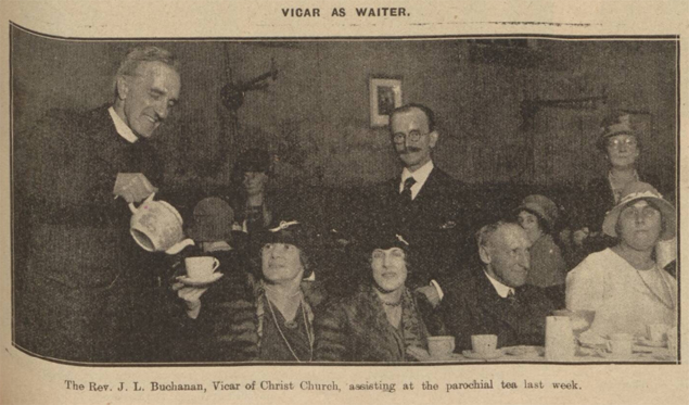 historical newspaper report on The Wonderful Advice Given by Vicars in the UK, From 1904 to 1939