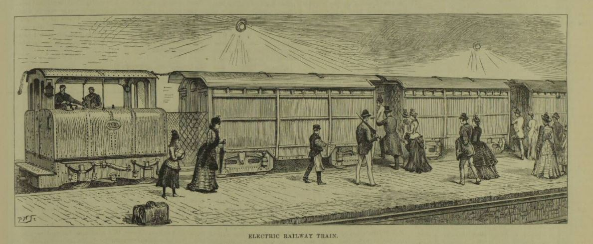 First electric railway London