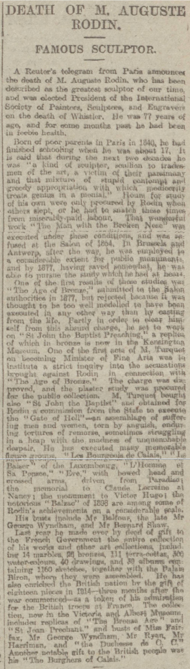 historical newspaper report on ratclyffe hall