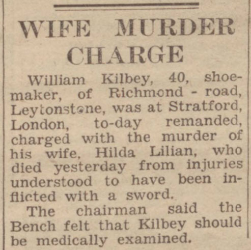 Wife murder charge