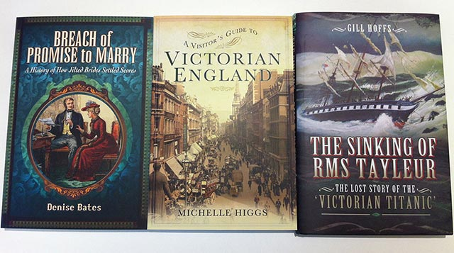 Enter The British Newspaper Archive's competition to win one of these books