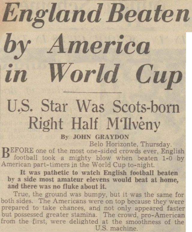Historical newspapers reveal the truth behind the World Cup myth