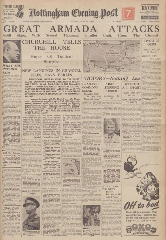 Nottingham Evening Post, 6 June 1944