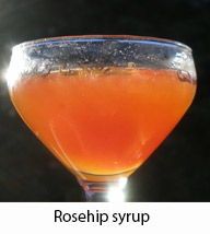 Rosehip syrup made from a WW1 recipe