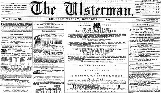 The Ulsterman's newspaper archives are now online
