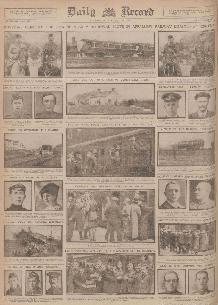 Daily Record May 24th 1915