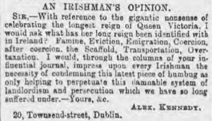 An Irishman's opinion - Reynolds's Newspaper - Sunday 14 February 1897