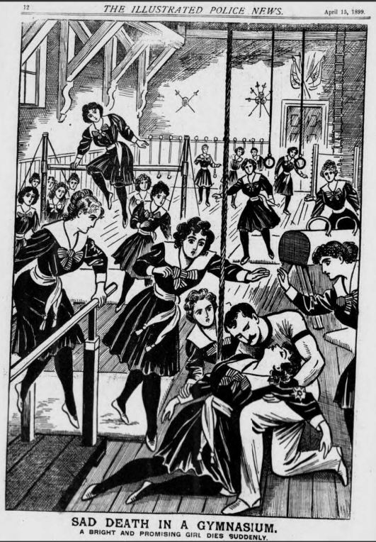 Illustrated Police News - Saturday 15 April 1899 © THE BRITISH LIBRARY BOARD. ALL RIGHTS RESERVED