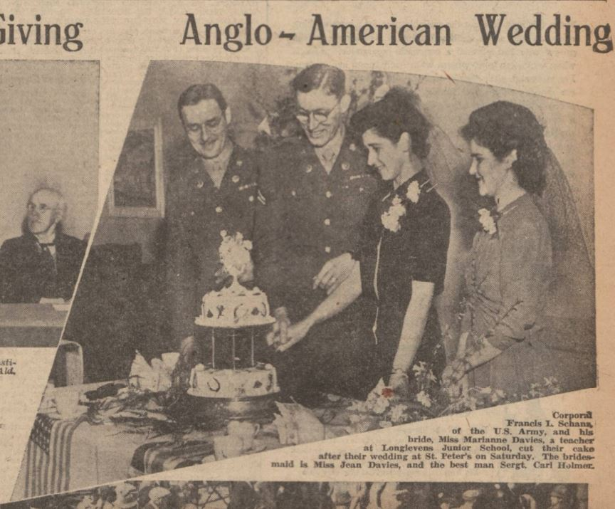 Anglo American Wedding Photos From The Historic Newspapers