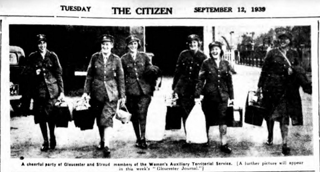 Gloucester Citizen - Tuesday 12 September 1939 © THE BRITISH LIBRARY BOARD. ALL RIGHTS RESERVED