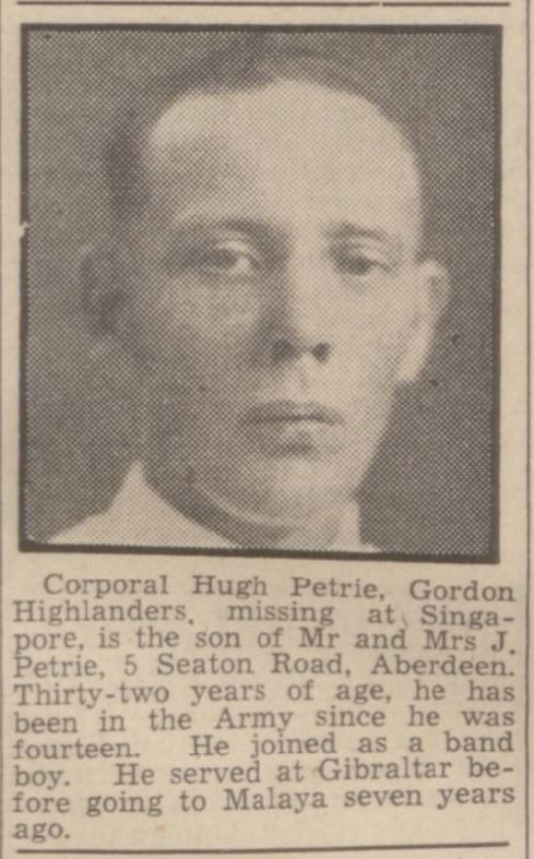 Aberdeen Weekly Journal - Thursday 12 March 1942