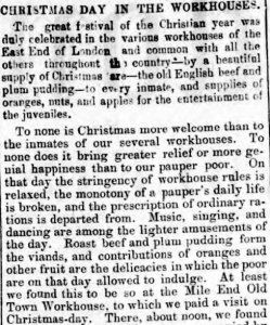 East London Observer, 2 Jan 1864