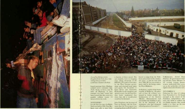Illustrated London News 1 Dec 1989 Berlin Wall
