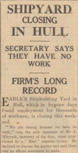 Hull Daily Mail, 1 June 1932