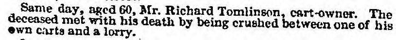 Liverpool Mercury, 8 February 1839