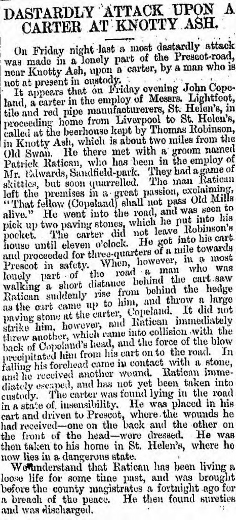 Liverpool Mercury, 26 May 1868