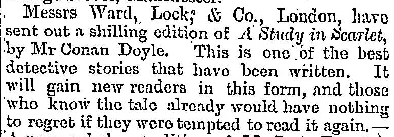 The Scotsman, 9 July 1888