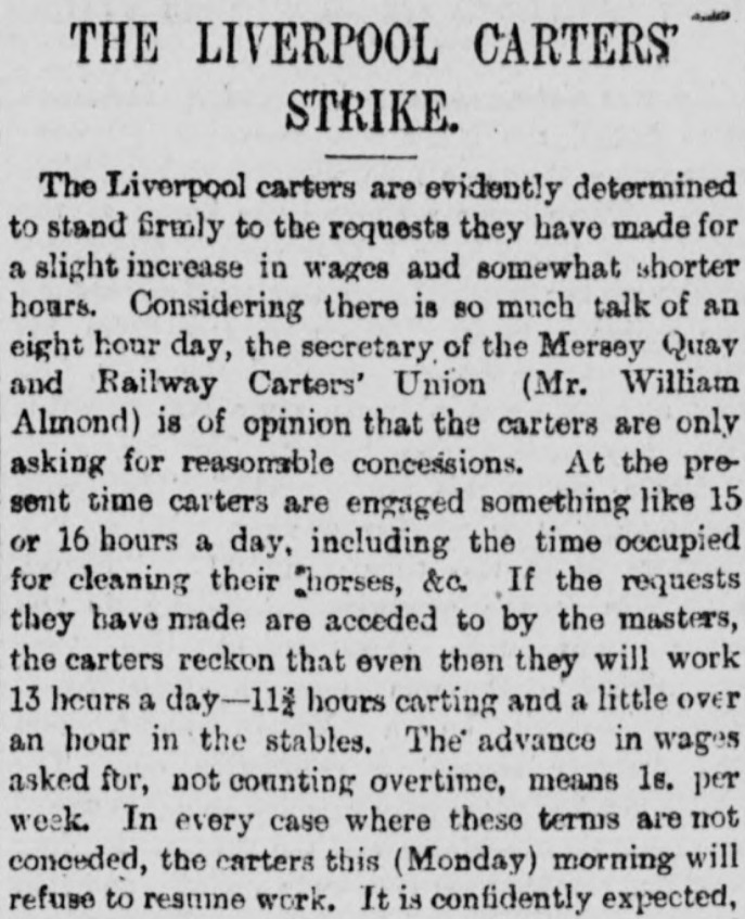Liverpool Mercury, 6 October 1890