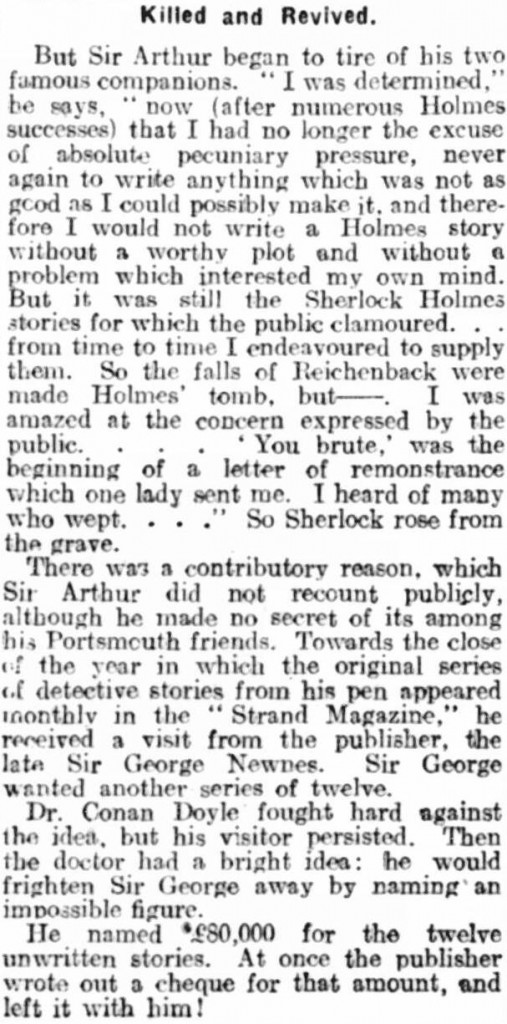 Portsmouth Evening News, 8 July 1930