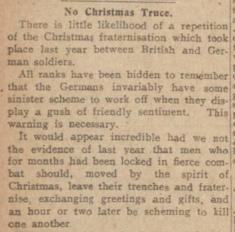 Dundee Courier, 23 December 1915