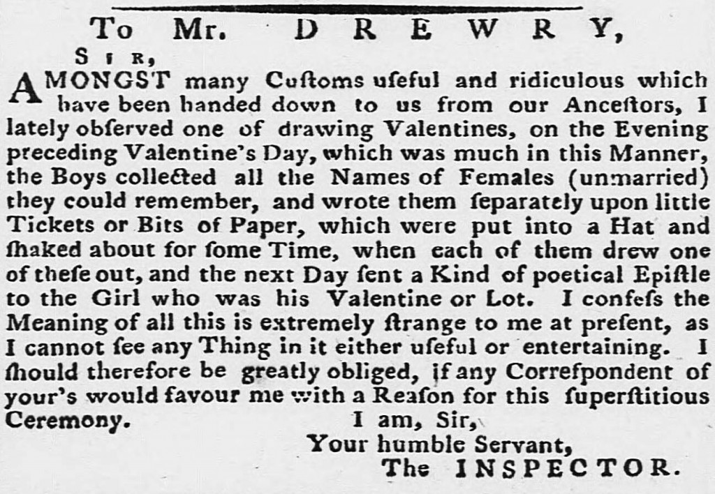 Derby Mercury, 7 March 1782  You'll see from this article that the printed lowercase s looks like a lowercase f. This is called the long, medial, or descending s. By the early 1800s, the use of the long s had all but vanished.