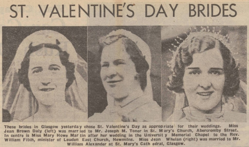 Daily Record, 15 February 1939
