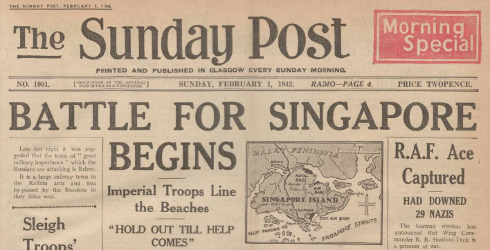 Battle for Singapore begins