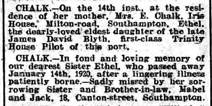 Hampshire Advertiser 1920