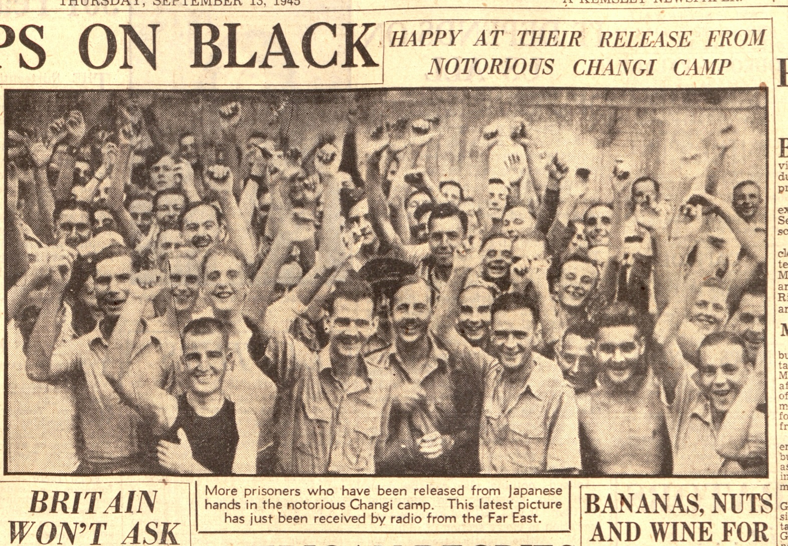 Aberdeen Press and Journal , Thursday 13 September 1945