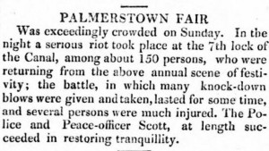 Saunder's Newsletter August 1823