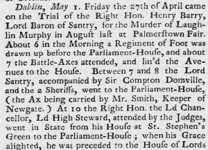 Caledonian Mercury May 1739