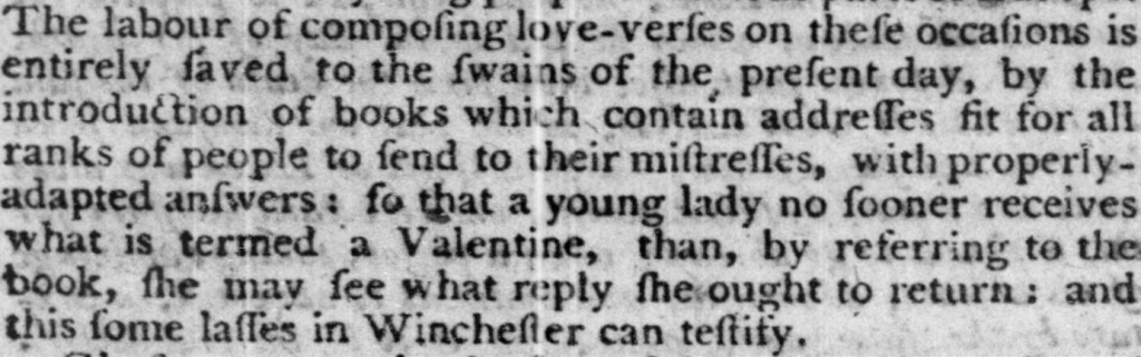 Hampshire Chronicle, 21 February 1791 You'll see from this article that the printed lowercase s looks like a lowercase f. This is called the long, medial, or descending s. By the early 1800s, the use of the long s had all but vanished.