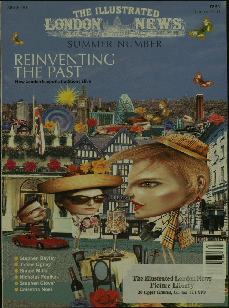 Illustrated London News last edition May 2003