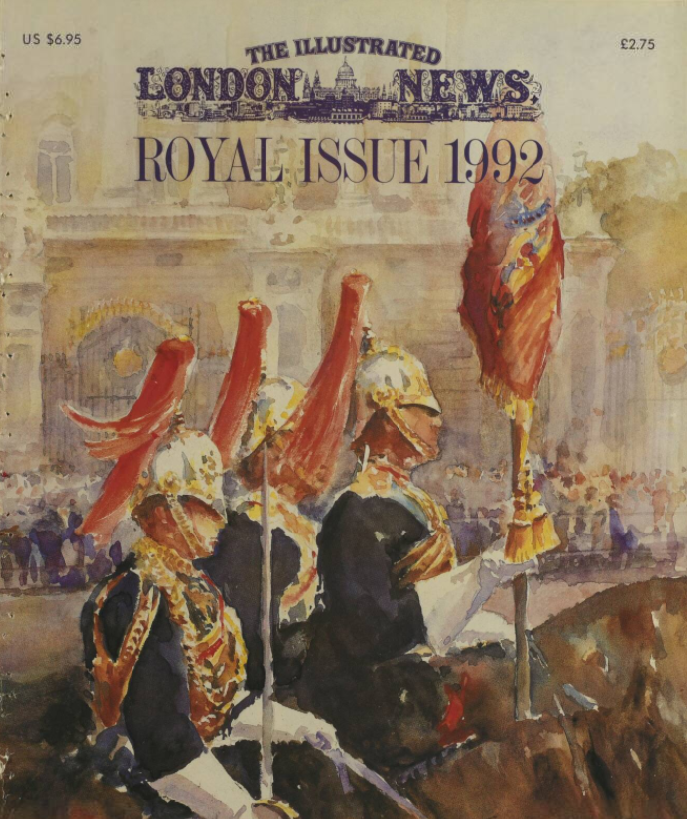 Royal Issue of the Illustrated London News, 1992