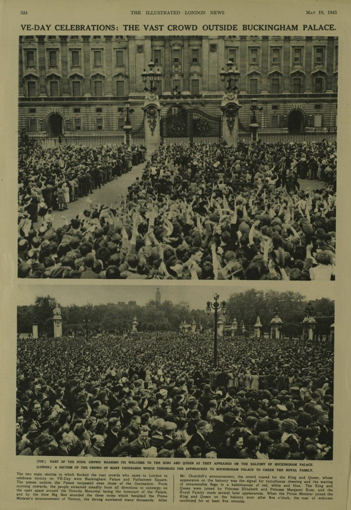 VE-Day celebrations in England