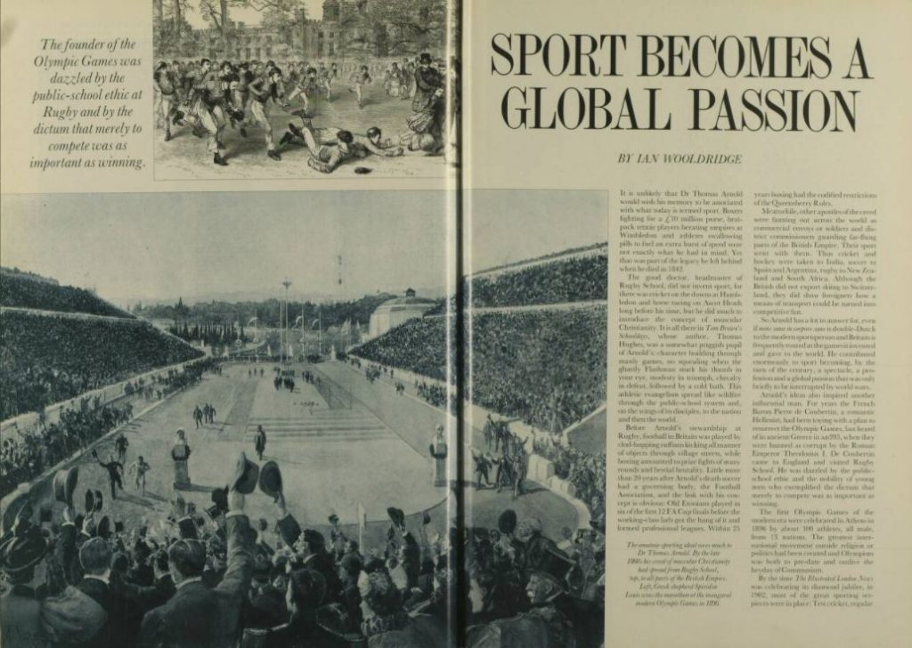 Sport becomes a global passion, Illustrated London News