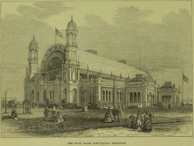 Sydney Exhibition Building exterior