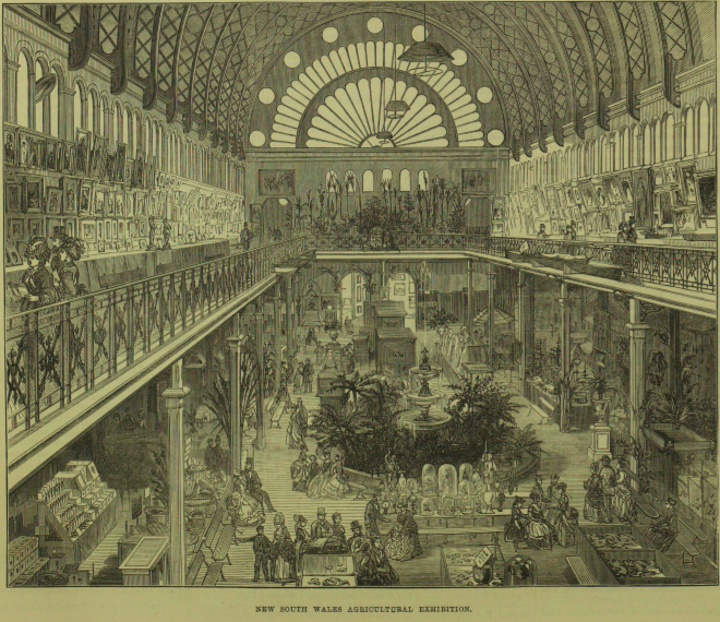Sydney Exhibition Building interior