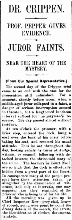 Trial of Dr Crippen