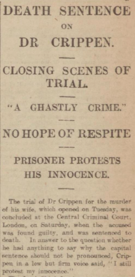 Dr Crippen guilty